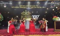 Nhiều Nghệ sĩ Việt tham dự họp báo Nữ hoàng Trang sức Việt Nam 2017