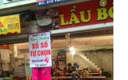 Hôm nay, nhiều điểm bán vé xổ số Vietlott đã sẵn sàng tại Hà Nội