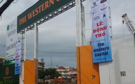 Kỳ 1 - The Western Capital rao bán căn hộ rầm rộ khi dự án đang giải tỏa mặt bằng