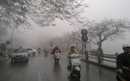 Dự báo thời tiết ngày 17/1: Hà Nội mưa rét kèm sương mù