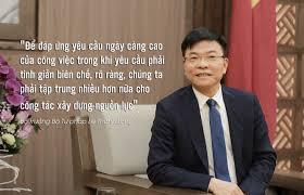 Đầu xuân, Bộ trưởng Lê Thành Long nói gì về công chức ngành Tư pháp?
