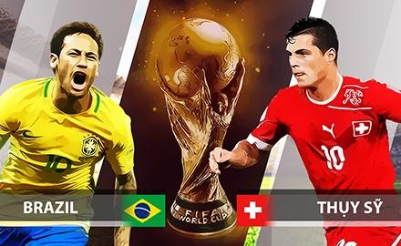 Clip dự đoán trận 'đại chiến' Brazil - Thụy Sỹ: Gánh nặng kỳ vọng người khổng lồ Brazil