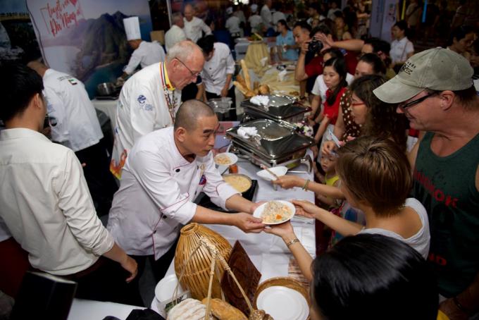 Những trải nghiệm chưa từng có tại Lễ hội ẩm thực Quốc tế lần đầu tiên diễn ra ở Đà Nẵng