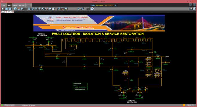 Điện lực Đà Nẵng thử nghiệm thành công công nghệ tự động hóa lưới điện phân phối