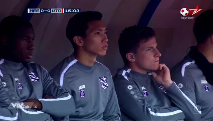 Đoàn Văn Hậu ngồi ghế dự bị, SC Heerenveen hòa đáng tiếc FC Utrecht trên sân nhà