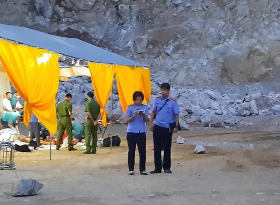 Hé lộ nguyên nhân về vụ tai nạn lao động làm 3 người chết ở mỏ đá tại Điện Biên?