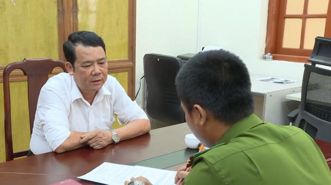 Giám đốc doanh nghiệp tại Bắc Ninh rút súng dọa bắn vỡ sọ người đi đường khai gì tại cơ quan Công an?