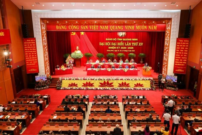 Khai mạc Đại hội Đảng bộ tỉnh Quảng Ninh lần thứ XV, nhiệm kỳ 2020-2025