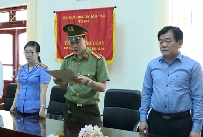 Lộ danh tính thêm 7 cán bộ Công an liên quan đến vụ án gian lận điểm thi ở Sơn La