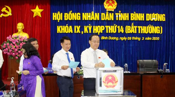 Bí thư Thị ủy Tân Uyên làm Phó Chủ tịch HĐND Bình Dương