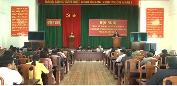 Kon Tum: Công tác đối thoại, tiếp dân và giải quyết đơn khiếu nại của công dân ở huyện Đăk Hà