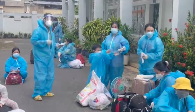 Đồng Nai phối hợp đưa 800 công dân Phú Yên về quê