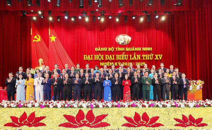 Bế mạc Đại hội XV Đảng bộ tỉnh Quảng Ninh