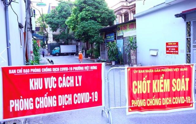 Trưa 19/9, Hà Nội ghi nhận 12 ca mắc Covid-19, có 4 ca ở ổ dịch phường Việt Hưng