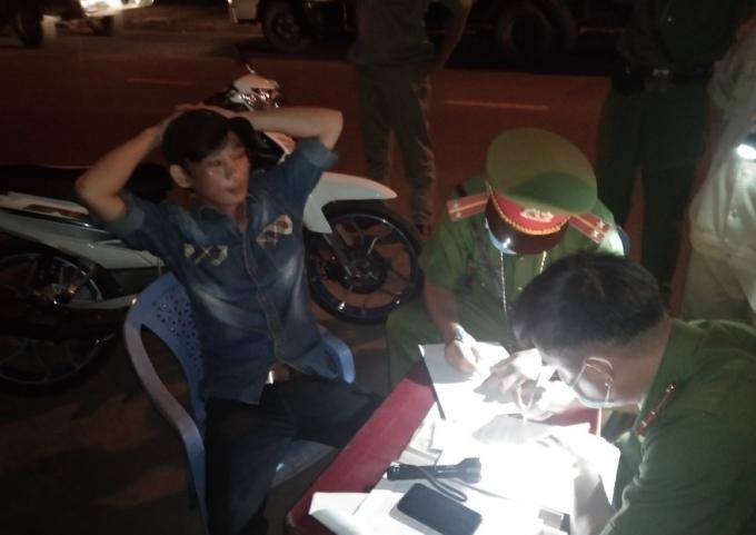 Huyện Nhơn Trạch xử nghiêm nhiều trường hợp không đeo khẩu trang