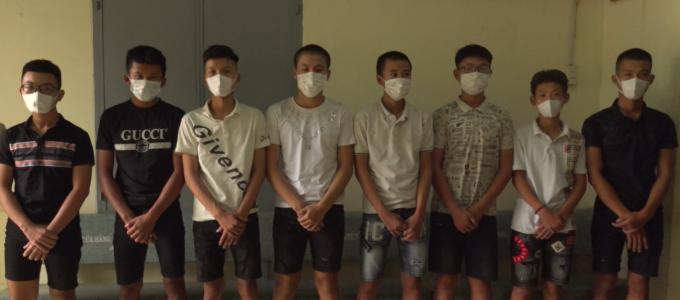 Đồng Nai: Nhóm thiếu niên 2k mang hung khí đi giải quyết mâu thuẫn