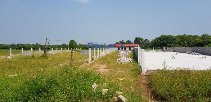 Đất nông nghiệp biến tướng thành nhà, xưởng tại xã Phụng Châu