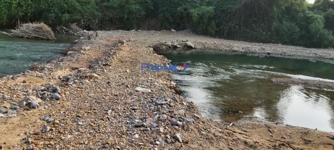 Lạng Sơn: Thêm một dải ngầm tràn cắt dòng sông Trung ở huyện Hữu Lũng