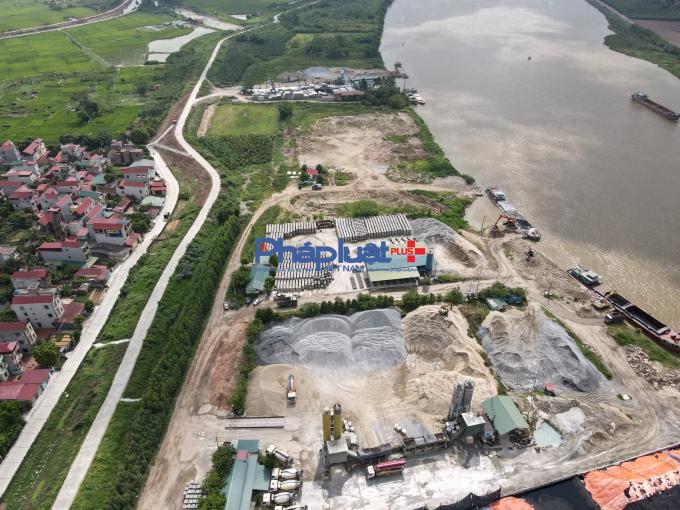 Công ty Đức Trọng tháo dỡ trạm bê tông trên giấy, huyện Quế Võ có run tay?