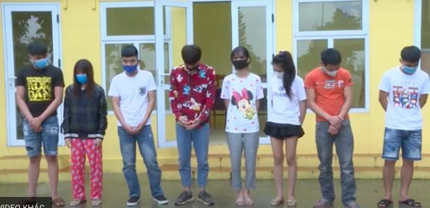 Bắt ổ nhóm nam nữ tụ tập sử dụng ma tuý trong nhà trọ ở Bắc Ninh