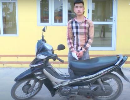 Bắt giữ thanh niên choai cướp giật tài sản chỉ sau 1h gây án ở Bắc Ninh
