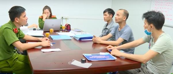 Bắc Ninh: Bắt quả tang 3 công nhân Công TNHH Xinda Việt Nam đổ chất thải ra môi trường