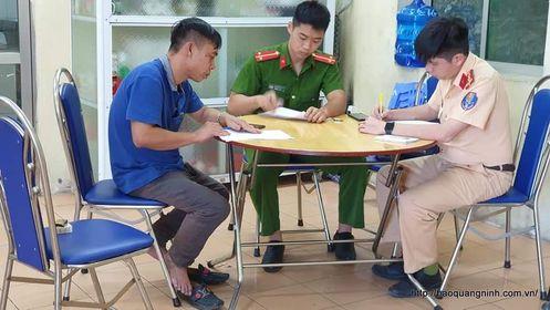 Quảng Ninh: Xác định danh tính của 2 lái xe ô tô đánh võng, lạng lách như phim hành động