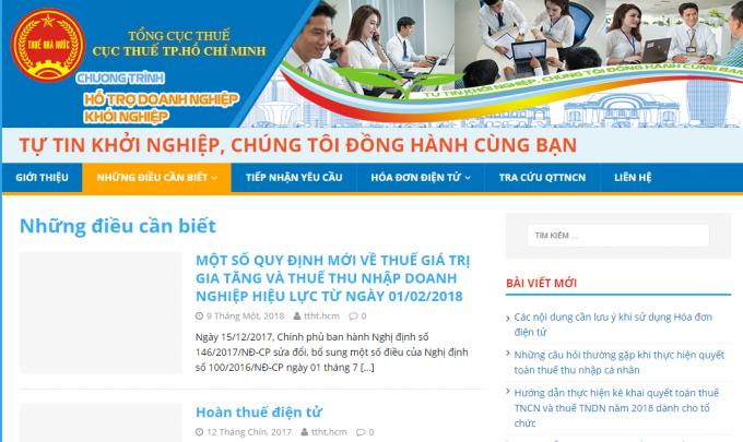 Cục thuế Thành phố Hồ Chí Minh: Ước thu ngân sách nhà nước tháng 8/2020 được 13.504 tỷ đồng