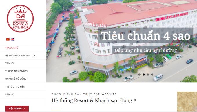 Công ty Cổ phần Tập đoàn Khách sạn Đông Á bị xử phạt 155 triệu đồng