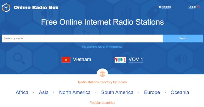 Vi phạm bản quyền kênh chương trình phát thanh của VOV 3 websites bị xử lý