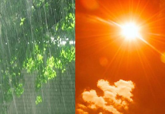 Thời tiết ngày 25/6/2021: Bắc Bộ có mưa dông, Trung Bộ nắng nóng gay gắt