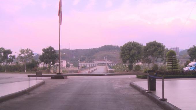 Tất cả các cửa khẩu ở Lào Cai giáp Trung Quốc vắng vẻ trong dịch Corona