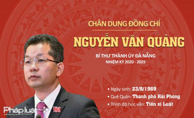 INFOGRAPHICS - Chân dung tân Bí thư Thành ủy Đà Nẵng Nguyễn Văn Quảng