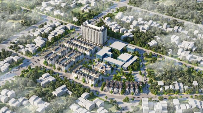 Vimefulland công bố Dự án Helianthus Center Red River đủ điều kiện bán hàng