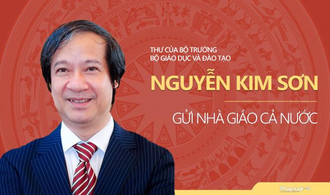 Bộ trưởng Nguyễn Kim Sơn kêu gọi 'chung sức để giáo dục tốt lên'