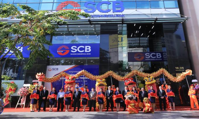 SCB khai trương phòng giao dịch khách hàng trung tâm