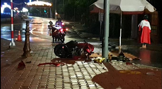 Bình Dương: Lao xe máy vào trụ biển báo hiệu, người đàn ông tử vong tại chỗ