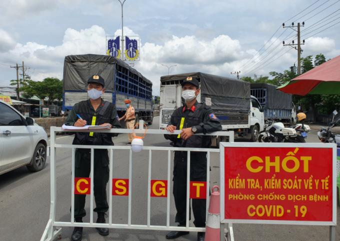 TP Vũng Tàu: Xe chở hàng hóa được đến nhưng phải bảo đảm phòng dịch