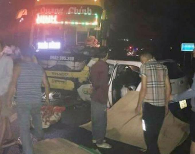 Quảng Ninh: Tai nạn giao thông nghiêm trọng khiến 5 người thương vong