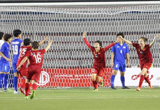 Đánh bại Thái Lan, đội tuyển nữ Việt Nam tạo nên lịch sử 6 lần đoạt HCV tại Seagame