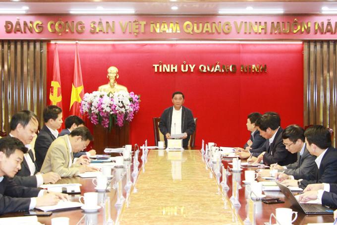 Chủ nhiệm Ủy ban Kiểm tra Trung ương làm việc với Ủy ban Kiểm tra Tỉnh ủy Quảng Ninh