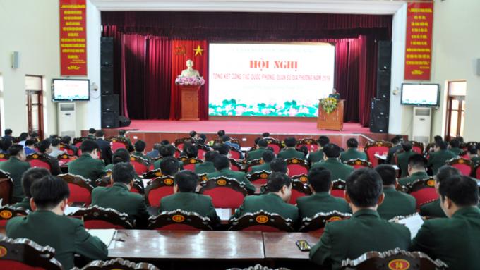 Quảng Ninh: Triển khai công tác quốc phòng, quân sự địa phương năm 2020