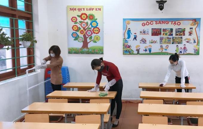 Quảng Ninh: Phòng chống dịch Covid-19, học sinh tiếp tục được nghỉ học đến gần hết tháng 3