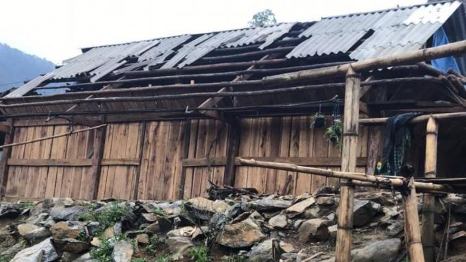 6 người thương vong do ảnh hưởng của mưa to và dông lốc