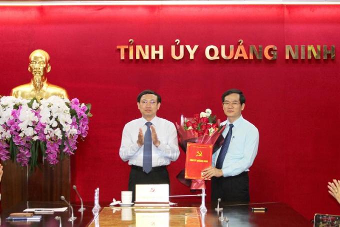 Quảng Ninh: Giám đốc Sở Nội vụ được phân công, bổ nhiệm kiêm Trưởng Ban Tổ chức Tỉnh ủy