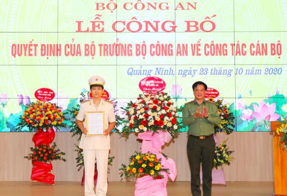 Quảng Ninh có tân Phó Giám đốc Công an tỉnh