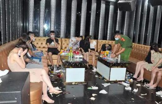 Khởi tố nhóm nam nữ sử dụng ma tuý trong quán karaoke Bad Boy bất chấp dịch bệnh