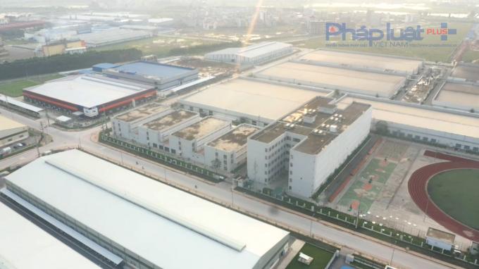 Công ty Luxshase - ICT Việt Nam cho lưu trú bất hợp pháp 1.572 lao động ở Bắc Giang
