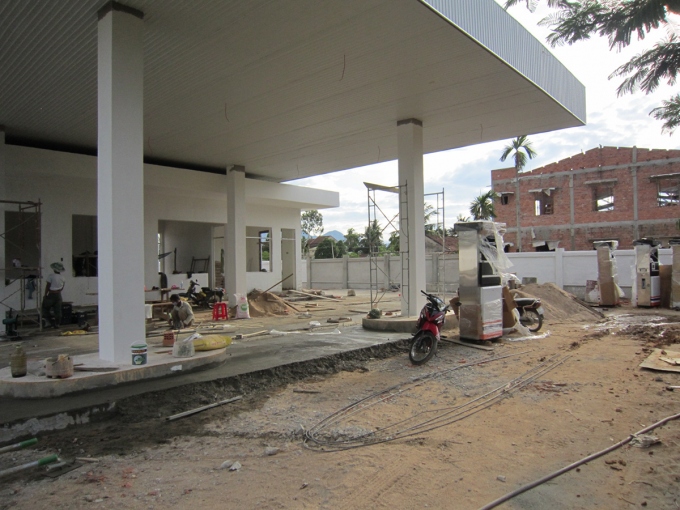 Hà Nam: Dự án cửa hàng xăng dầu Hà Cường xây dựng không phép