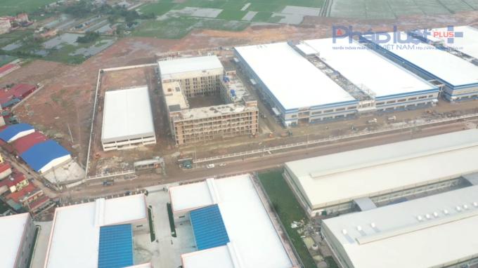 Công ty TNHH Luxshare - ICT xây không phép 3 toà nhà, quên luôn báo cáo đánh giá tác động môi trường